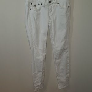 True religion white skinny Jeans